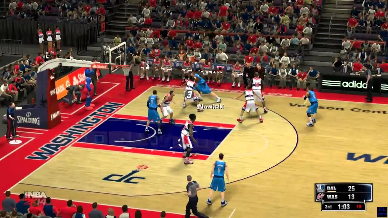 Dallas Mavericks vs Washington Wizards - NBA - 19-11-14 ...