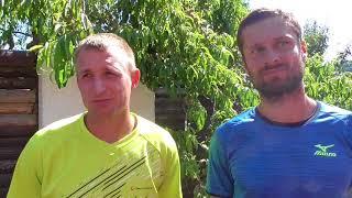 Pavel Nejedlý a Petr Michnev po vítězství v 1. kole deblu Rieter Open Ústí nad Orlicí 2018