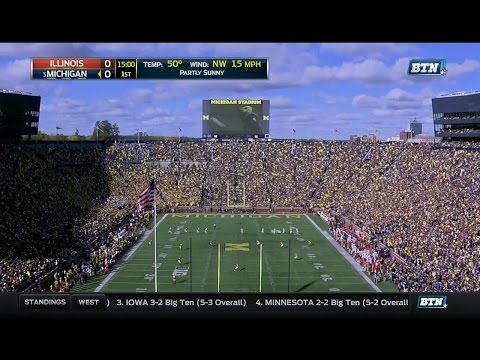 2016 Michigan vs. Illinois Playcut