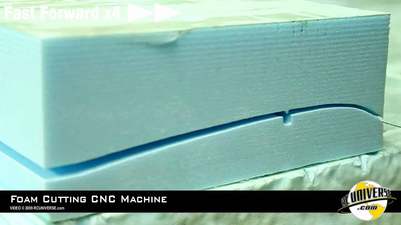 How To: CNC Foam Cutting Machine. Part 2 Cutting - YouTube