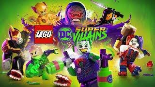 LEGO DC Super-Villains: The Movie HD | All Cutscenes