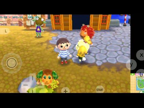 Animal Crossing New Leaf ANDROID (3DS Emulator Citra MMJ Build 14/10 - Snapdragon 855)