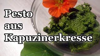 Pesto aus Kapuzinerkresse als natürliches Antibiotikum - so macht ihr eure Kapuzinerkresse haltbar!