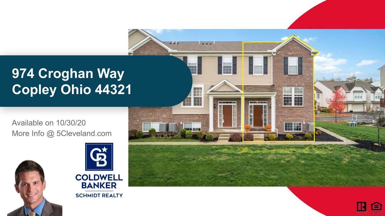 974 Croghan Way Copley OH 44321 Montrose Park Townhome For Sale