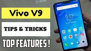 Vivo V9 Tips, Tricks and Best Features !📱🔥