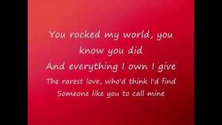 Baixar - Michael Jackson You Rock My World Lyrics Grátis