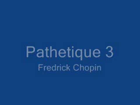 Pathetique 3 By Chopin
