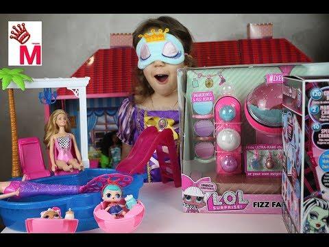 LOL Fizz Factory Фабрика ЛОЛ по производству Бомбочек для ванны с сюрпризом ЛОЛ Своими Руками Kids