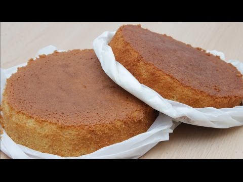 Чудо - корж / Корж для торта / Wunderkuchen