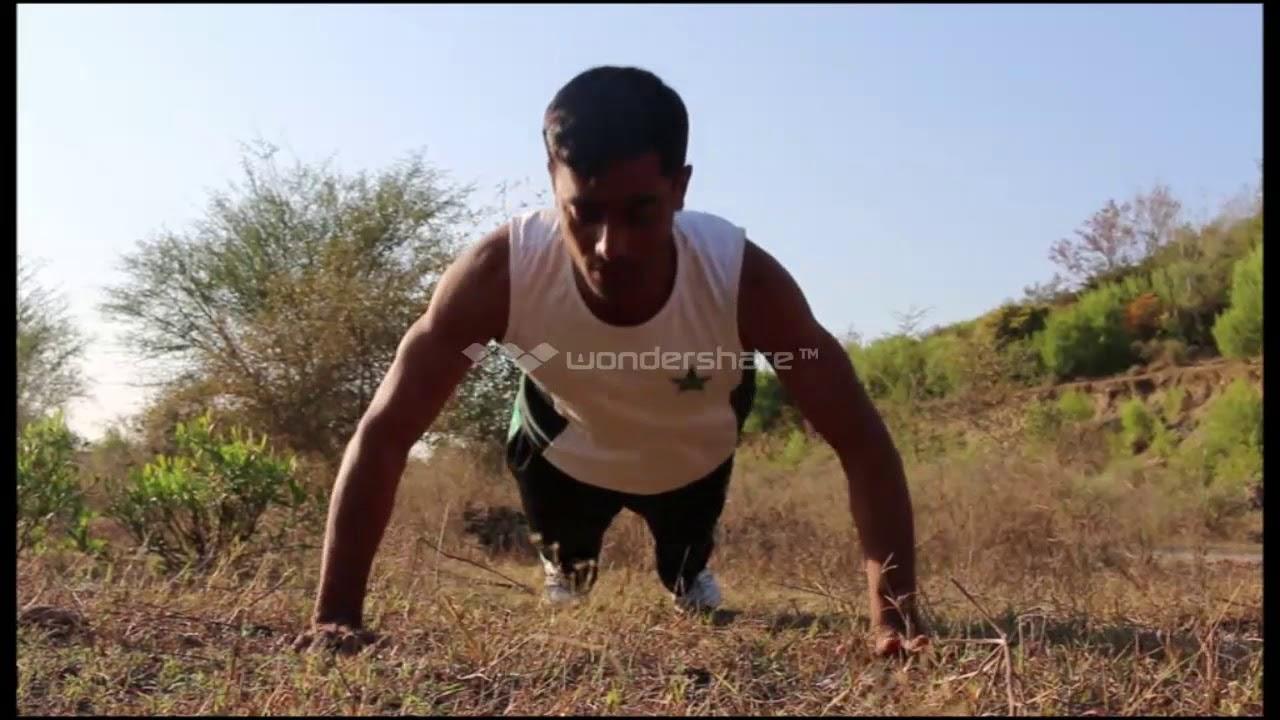 Pakistan Army PACES Push Ups Test