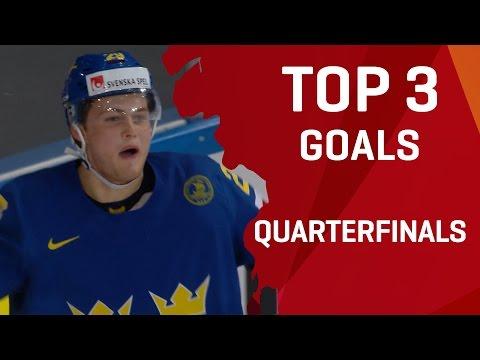 Top 3 Goals - Quarterfinals - #IIHFWorlds 2017 - 동영상