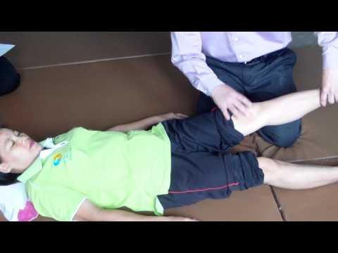 ติวสอบ นวดแก้อาการ ปวดขา เข่า ตอน ๑