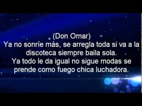 Don Omar Ft. Juan Magan - Ella No Sigue Modas (Letra) Official 2013