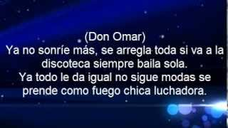 Don Omar Ft. Juan Magan - Ella No Sigue Modas (Letra) Official 2013