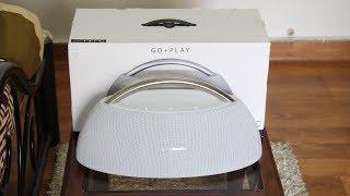 Harman Kardon Go+Play Portable Bluetooth Speaker Sound Test  (White)