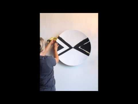 DIY Painted Plate Wall Art