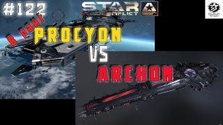 Star Conflict #122 Procyon VS Archon Дуэль со зрителем
