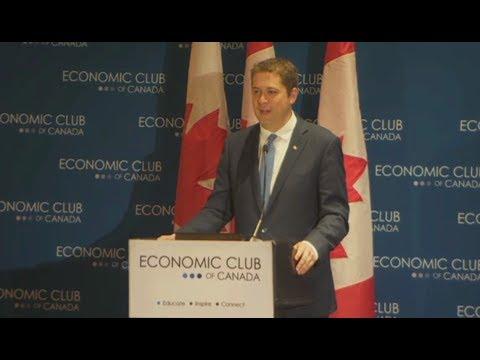 Andrew Scheer Speech Ends Trudeau's Bid For A Second Term