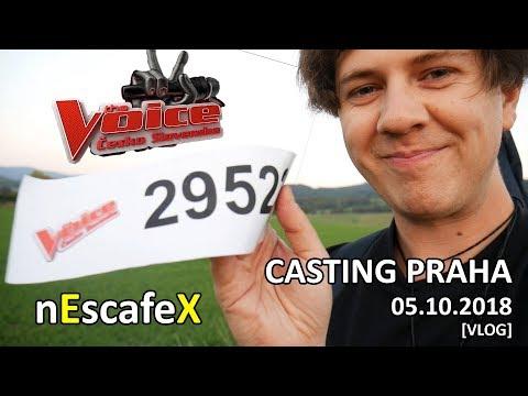 Hlas Česko Slovenska (CASTING) PRAHA 05.10.2018 [VLOG] - nEscafeX
