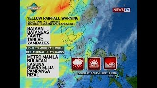 NTVL: Weather update as of 2:57 p.m. (June 13, 2018)