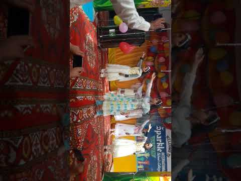 Sana khan shinwari my daughter performance in school result programme  2018