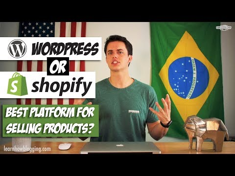 WordPress vs Shopify - Best Platform for Selling Products Online? thumbnail