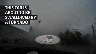 Weather Gone Viral: Car Picked Up by Tornado