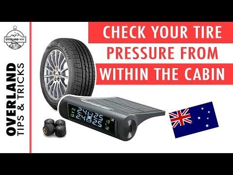 Iycorish Solar Tpms Car Tire Pressure Alarm Monitoring System 4 External Automatic Alarm System Tire Pressure Temperature Warning