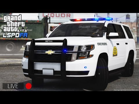 GTA 5 LSPDFR   Day 64  Utah Highway Patrol UHP