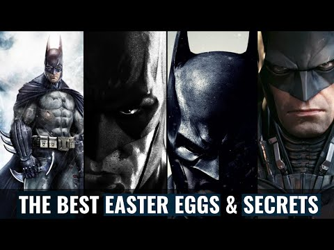 The Best Easter Eggs & Secrets In The Batman Arkham Games(2019) |