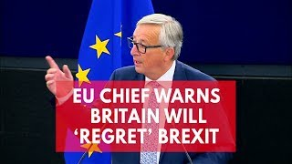 EU chief Jean-Claude Juncker warns UK will
