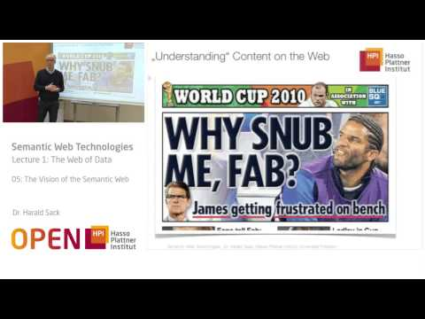 01 - 05 The Vision of the Semantic Web