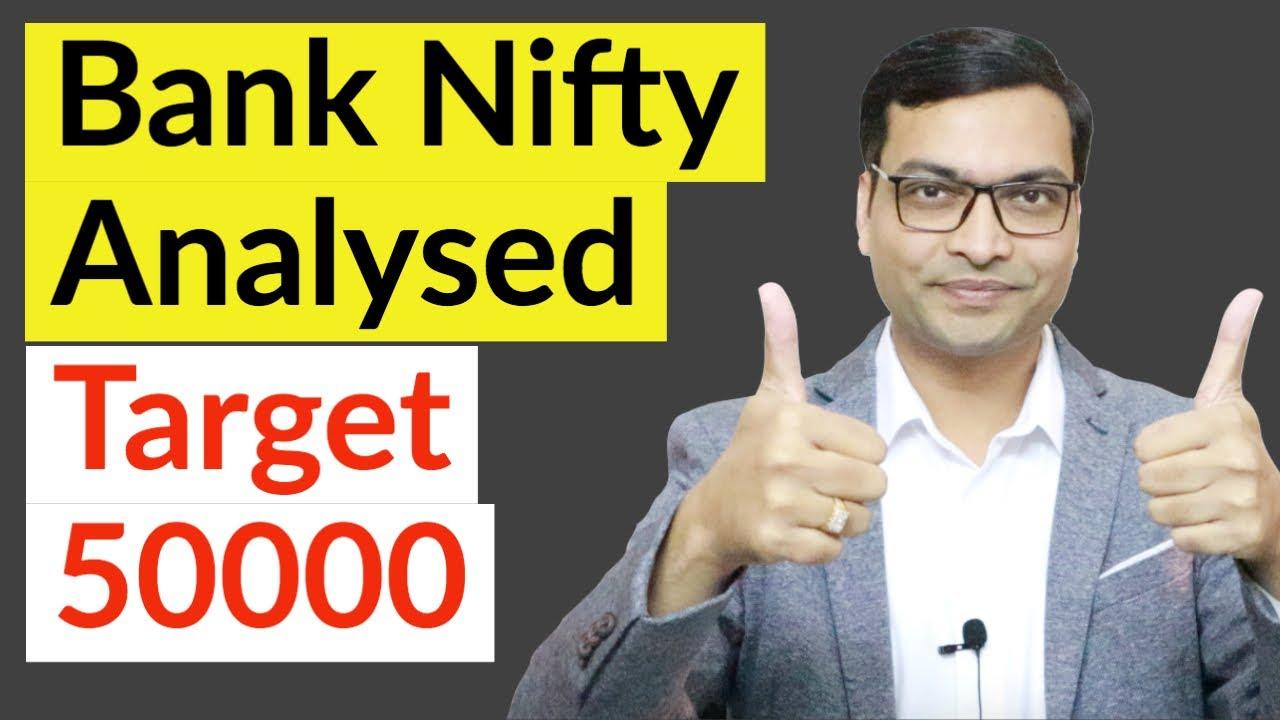 Bank Nifty Analysed. Target 50000