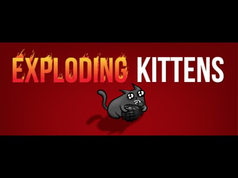 Exploding kittens nsfw board game