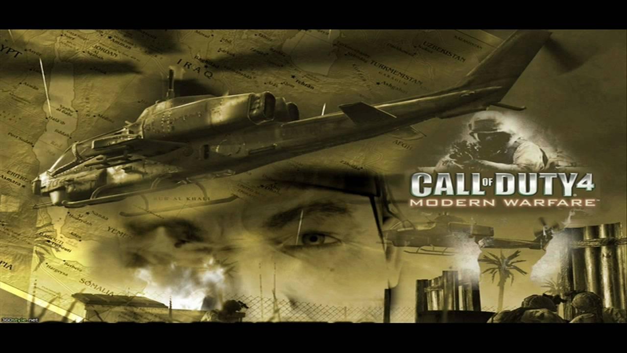Call Of Duty 4 Modern Warfare Ost Shock And Awe Youtube