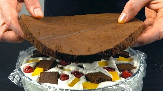 Восхитительно нежный торт ПАНЧО Простейший домашний рецепт
