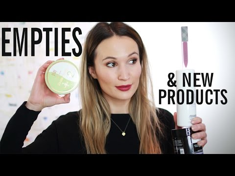 Lots of Empties, Some New Products & Skincare Chat | ttsandra