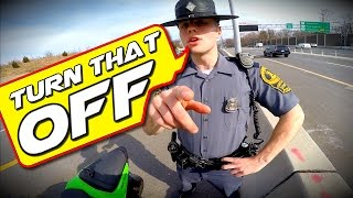 Pulled Over by the Coolest COP EVER!!!