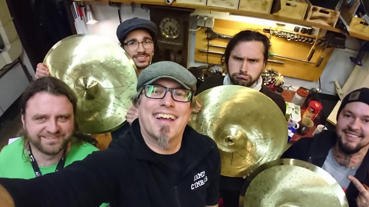 Kamin Youtube Kamin Cymbal Workshop Jan 2019 By Schwarzraum Media