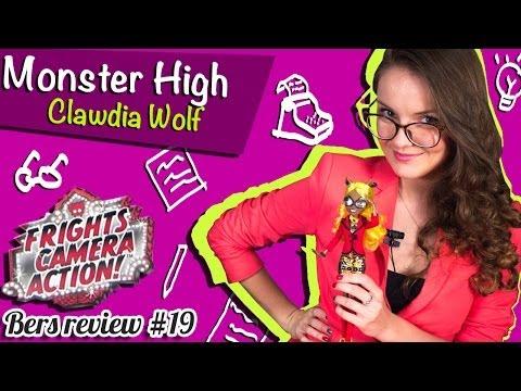 Clawdia Wolf Frights, Camera, Action! (Клавдия Вульф Страх, Камера, Мотор!) Monster High Обзор BDD88