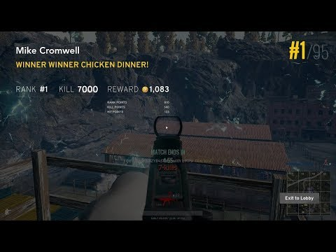 THE BEST PUBG PLAYER AND HIS CHICKEN DINNERS - THE BEST PUBG PLAYER AND HIS CHICKEN DINNERS