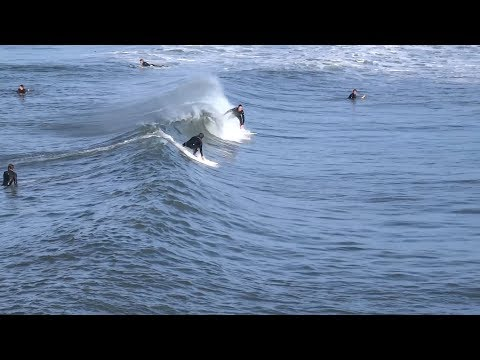 Huntington Beach, CA, Surf, 3/18/2018 - Part 7 (1080p)