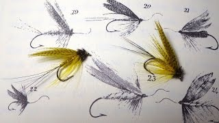Tying William Blacker's Green Drake (Classic Style Wet Fly) with Davie McPhail