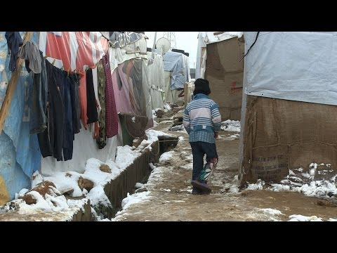 Syrian Refugee Children - Struggle in Lebanon Winter | UNICEF