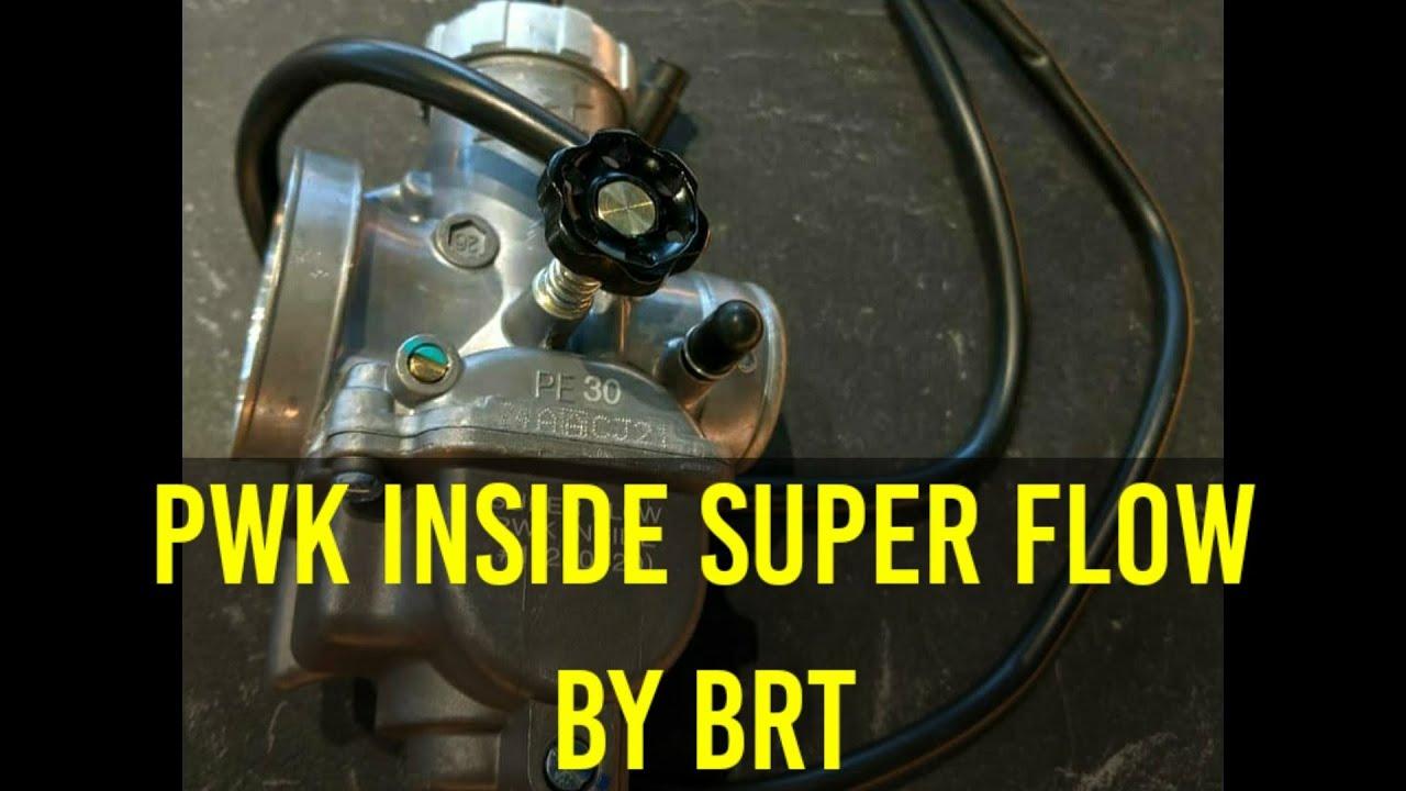 PWK inside in karburator PE by BRT - YouTube