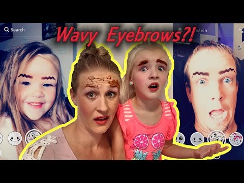 WAVY EYEBROWS!! I Tried The Latest Makeup Trend!!! FEATHERED EYEBROW CHALLENGE!