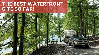 Bailey's Point Campground | Gręat Waterfront Camping In Kentucky | Full Time RV Living