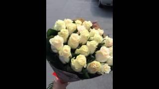25 кремовых роз Талея(, 2016-09-02T21:38:36.000Z)