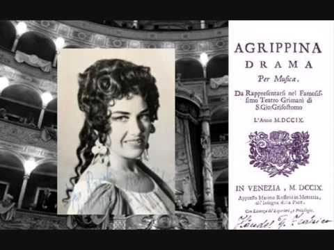 """Monica Sinclair Handel Agrippina """"Vaghe fonti..Ti vò giusta e non pietosa"""""""