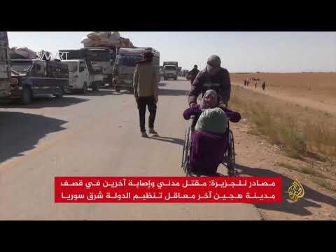 معارك طاحنة وأهالي دير الزور يهيمون بكل الجهات  - نشر قبل 6 ساعة